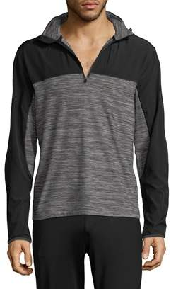 Mpg Sport Mpg Mock Neck Zipped Sweater