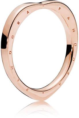 Pandora Rose Logo Heart Ring