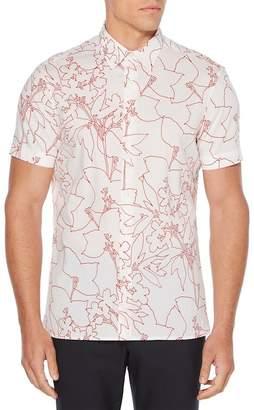 Perry Ellis Floral Print Regular Fit Shirt