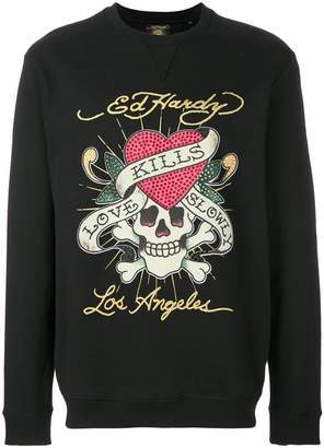 Ed Hardy Love Kills sweatshirt