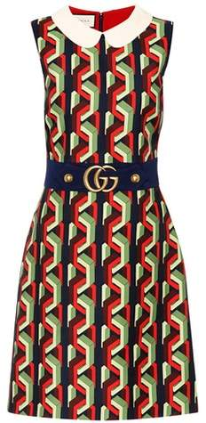 Gucci Printed sleeveless dress