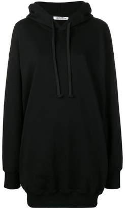 Krizia rear logo print hoodie