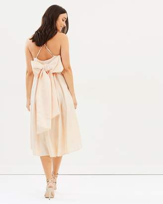 Dorothy Perkins Luxe Champagne Bow Camisole Dress