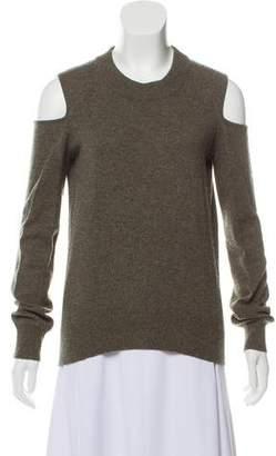 Veronica Beard Off-The-Shoulder Cashmere Sweater