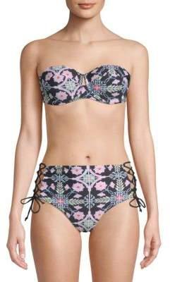 Rachel Roy Floral Underwire Bikini Top