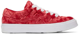 Converse Red Golf le Fleur* One Star OX Sneakers