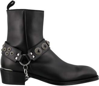 Alexander McQueen Harness Boots