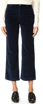 A.P.C. Sailor Pants $235 thestylecure.com