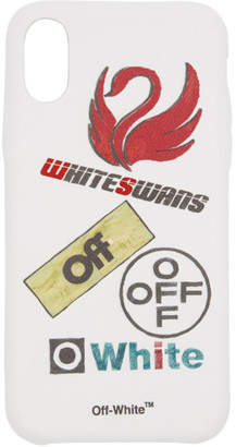 Off-White White Multilogo iPhone X Case