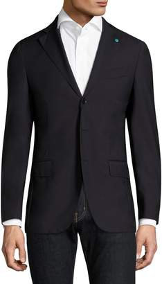 eidos Basic Regular-Fit Wool Blazer