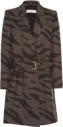 Philosophy di Lorenzo Serafini Printed Wool Coat