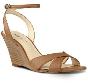 Women's Nine West Kami Ankle Strap Wedge Sandal $79.90 thestylecure.com