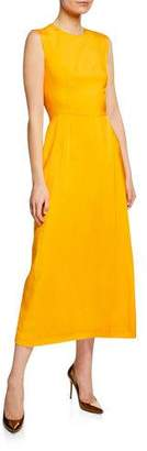 Escada Round-Neck Sleeveless Dress