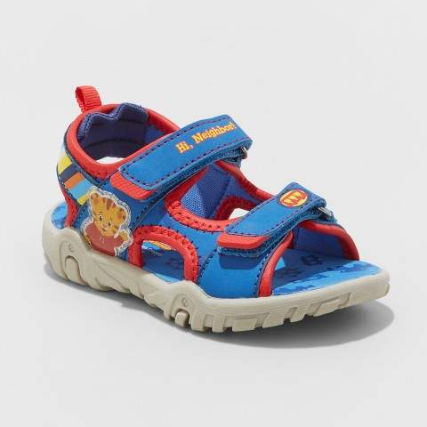 Daniel Tiger Toddler Boys' Daniel Tiger Neighborhood Fisherman Sandals - Blue