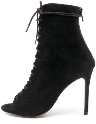 Wanted Dolce Black Boots Womens Shoes Casual Ankle Boots