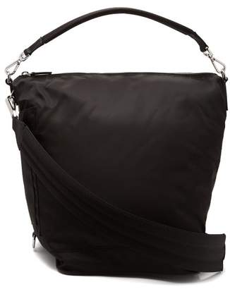 Paco Rabanne Hobo Medium Nylon Cross Body Bag - Womens - Black