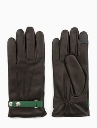 Calvin Klein leather gloves gift box