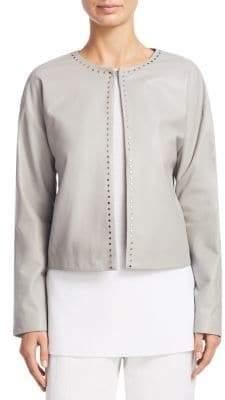 Fabiana Filippi Cropped Suede Coat