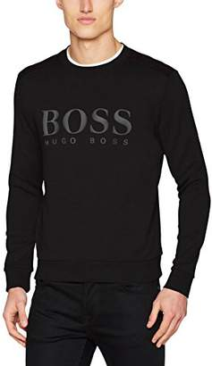BOSS Men's Salbo Sweatshirt, (Black 001)