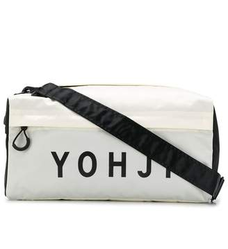 Y-3 logo print gym bag