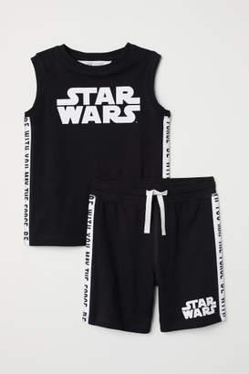 H&M Tank Top and Shorts - Black