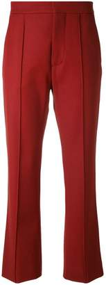 Marni pleated cropped trousers