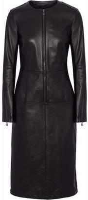 Belstaff Paneled Leather Dress