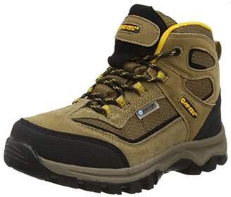 Hi-Tec Hillside Waterproof Junior, Boys High Rise Hiking Shoes, Beige (Smokey Brown/Gold 041), 5 UK (38 EU)