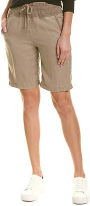 James Perse Pull-On Linen Short