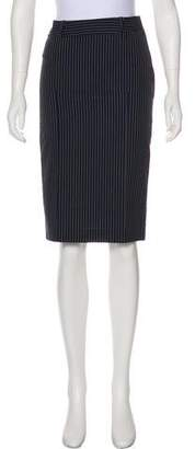 Paul Smith Pinstripe Wool Skirt