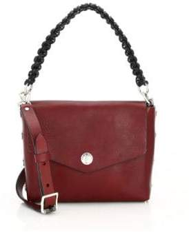 Rag & Bone Atlas Snap Concept Leather Shoulder Bag