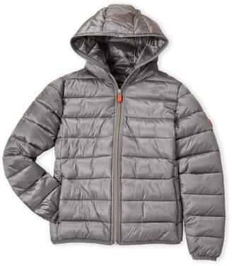 Save The Duck (Girls 7-16) Metallic Ultra Lightweight Puffer Jacket