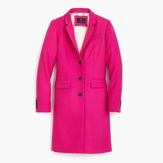 J.Crew Petite Regent topcoat in double-serge wool