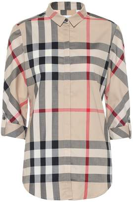 Burberry New Classic Check cotton shirt
