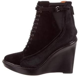 Givenchy Pointed-Toe Wedge Ankle Boots