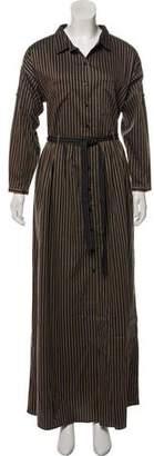 Sebastian Tryb 212 Printed Maxi Dress w/ Tags