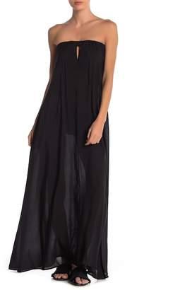 Elan International Maxi Strapless Dress