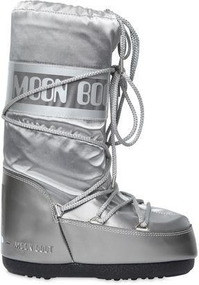 Mb Glance Shiny Nylon Boots $107 thestylecure.com