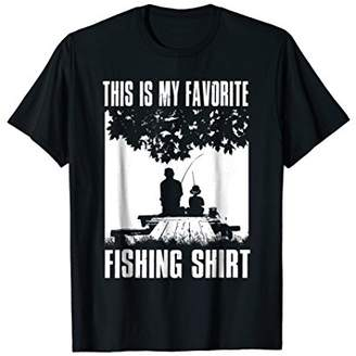 This Is My Favorite Fishing Shirt - Father And Son Gift