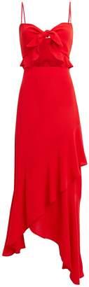 Flynn Skye Michelle Ruffle Front Maxi Dress
