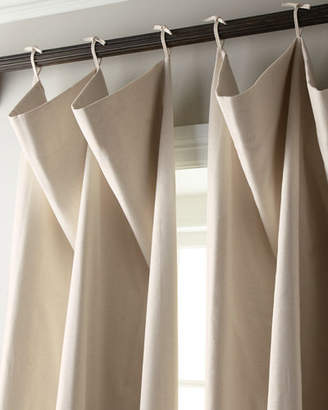 "Thomas Laboratories Misti Modern Luxuries Each 132""L Tie-Top Curtain"