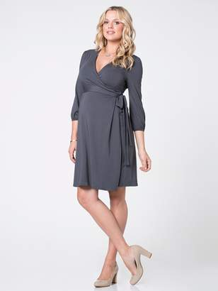 Ingrid & Isabel Three-Quarter Sleeve Wrap Dress