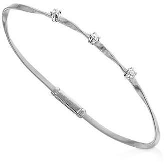 Marco Bicego Marrakech Bracelet in 18K White Gold with Diamonds