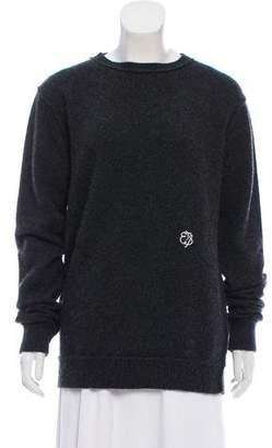 The Elder Statesman Cashmere Embroidered Sweater