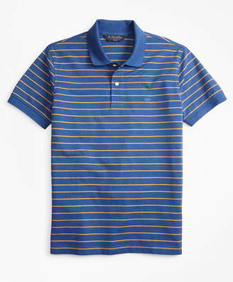 Brooks Brothers Slim Fit Supima Cotton Stripe Polo Shirt