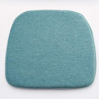 Food Network Aqua Chenille Chair Pad