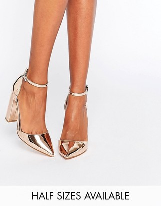 ASOS PENALTY Pointed High Heels $49 thestylecure.com