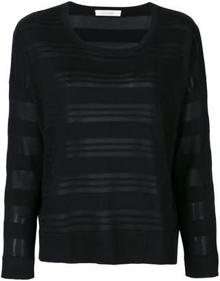 Cruciani long sleeved stripe top