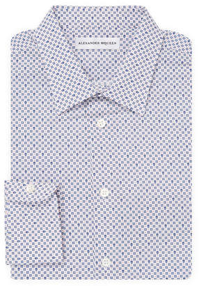 Alexander McQueen Print Dress Shirt