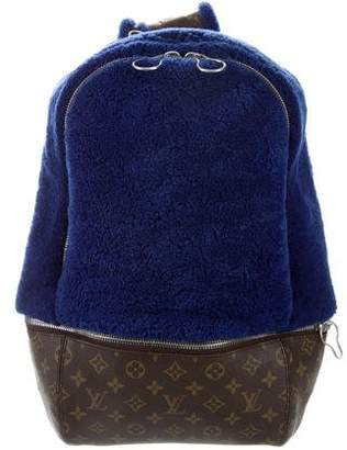 Louis Vuitton Marc Newson Fleece Backpack